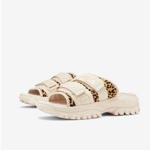 Fila Shoes - Fila Slide Animal Print